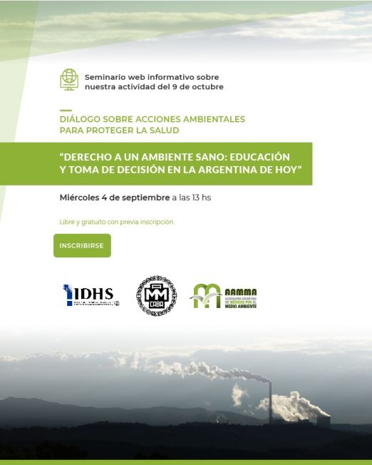 Flyer mail_Seminario Diálogo sobre acciones ambientales v2
